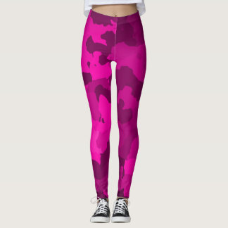 Pink Camo Leggings
