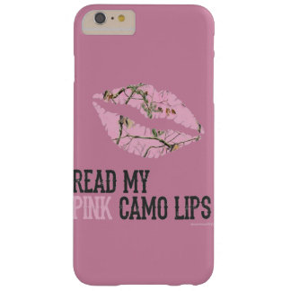 pink camo lips barely there iPhone 6 plus case