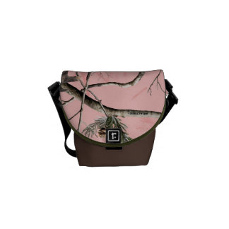 Pink Camo Mini Messenger Bag
