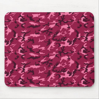 pink camo mousepad