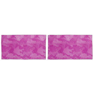 Pink Camo Pillowcase
