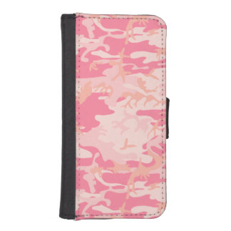 pink camo phone wallet cases
