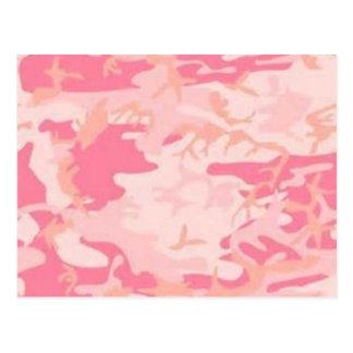 Pink Camo Postcard