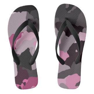 pink camo thongs