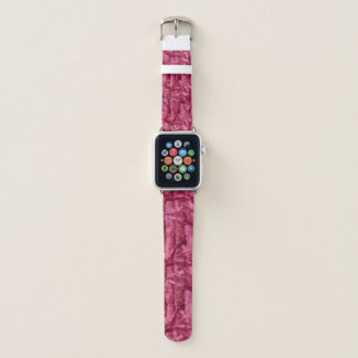 Pink Camouflage Apple Watch Band