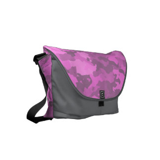 Pink Camouflage Commuter Bag