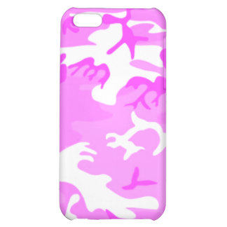 Pink Camouflage Cute Camo iPhone 5C Covers