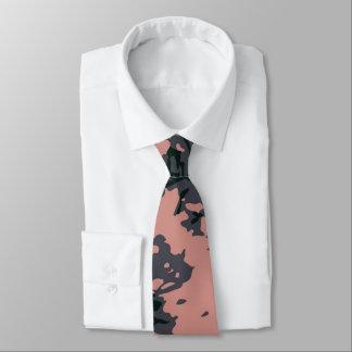 Pink Camouflage Design Tie