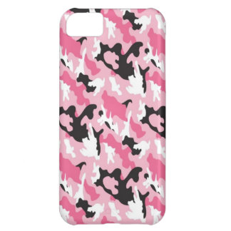 Pink Camouflage iPhone 5C Case