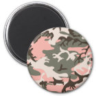 Pink Camouflage Magnet