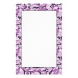 Pink Camouflage Military Pattern Custom Stationery
