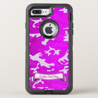 Pink Camouflage OtterBox Defender iPhone 7 Plus Case