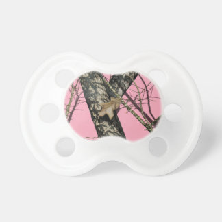 Pink Camouflage Pacifiers