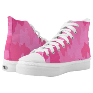 Pink Camouflage Shoes