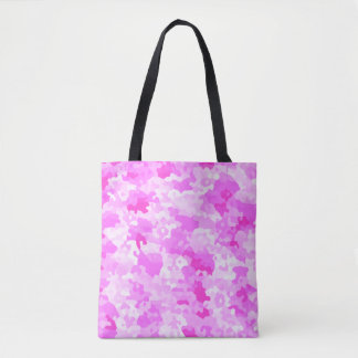 Pink Camouflage Tote Bag