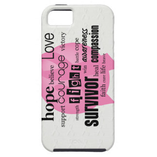 Pink Cancer Awareness iPhone 5 Cases