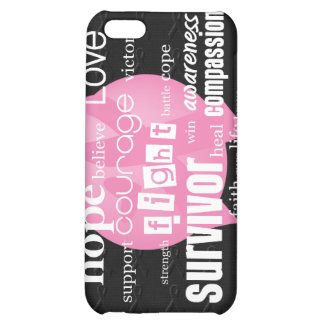 Pink Cancer Awareness iPhone 5C Covers