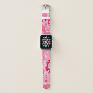 pink candy apple watch band