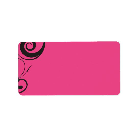 PINK CANDY sticker Print your own label Address Label