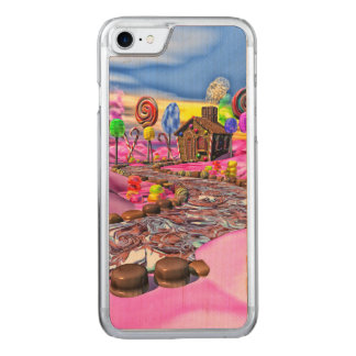 Pink Candyland Carved iPhone 7 Case
