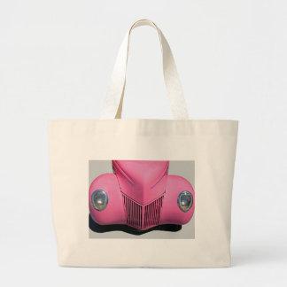 Pink Car Tote Bag