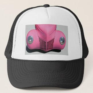 Pink Car Trucker Hat