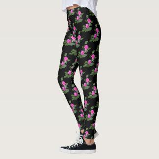 Pink Carnation Leggings