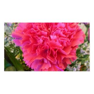 Pink Carnation Pack Of Standard Business Cards