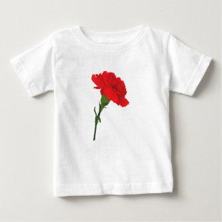 Pink Carnation Rose Baby T-Shirt