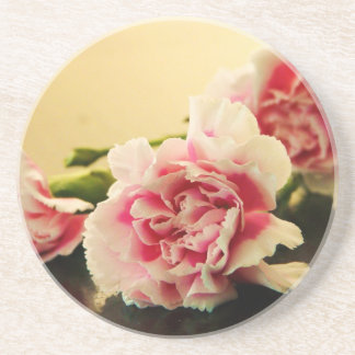Pink Carnations Coasters
