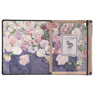 Pink Carnations in a Basket iPad Folio Case