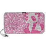 Pink Cartoon Panda