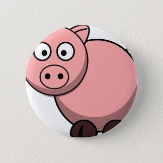 Pink cartoon Piggy 6 Cm Round Badge