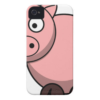 Pink cartoon Piggy iPhone 4 Cover