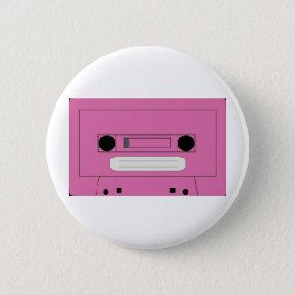 Pink casette badge
