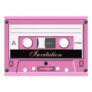 Pink Cassette_ Custom Announcements