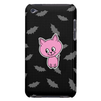 Pink Cat and Bats. iPod Touch Covers