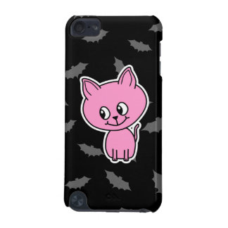 Pink Cat and Bats. iPod Touch (5th Generation) Covers