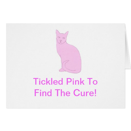 Pink Cat Cards
