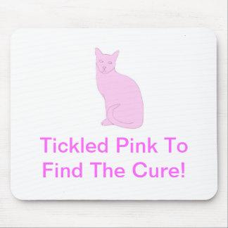 Pink Cat Mousepad