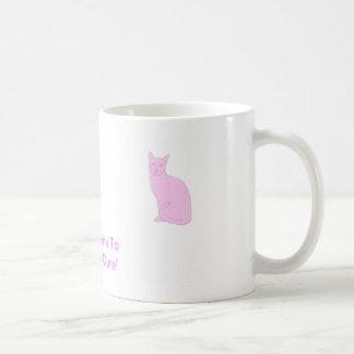 Pink Cat Coffee Mugs