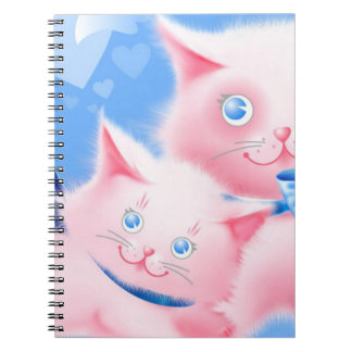 Pink Cats Notebooks
