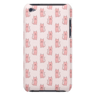 Pink Cats. Pattern iPod Case-Mate Cases