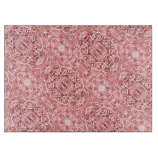Pink Chain Links Photo 0284 Cutting Board