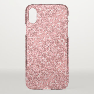 Pink Chain Links Photo 0284 iPhone X Case