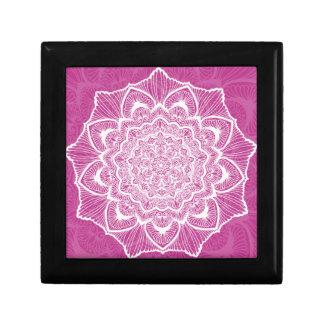 Pink Chakra Blossom, boho, new age, spiritual Gift Box