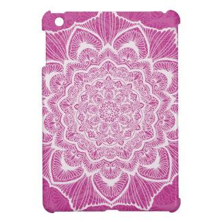 Pink Chakra Blossom, boho, new age, spiritual iPad Mini Cases