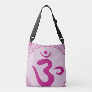 Pink Chakra Custom All-Over-Print Cross Body Bag