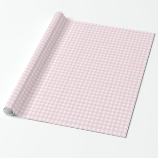 Pink checkered wrapping