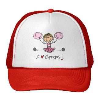 Pink Cheerleader Cap